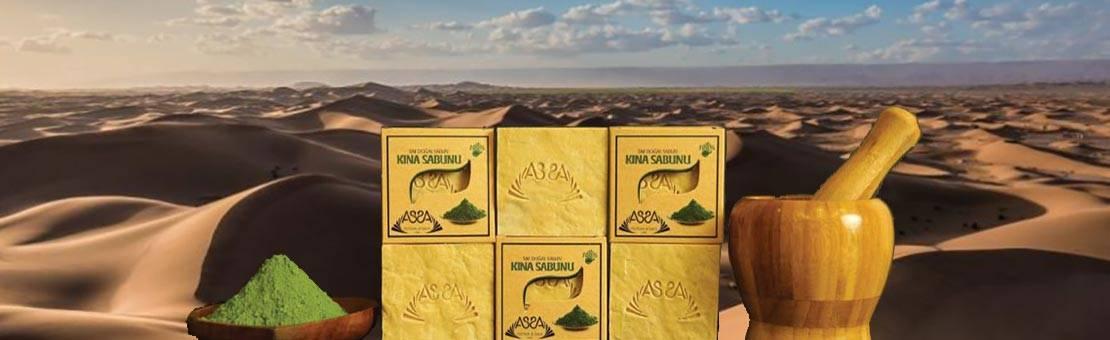 Dunes de sable et savon au henné